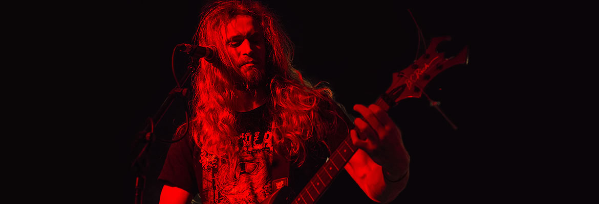 Bloodgod featuring Daan (ex-Hymir, Decisive Intrusion) on guitars and grunts